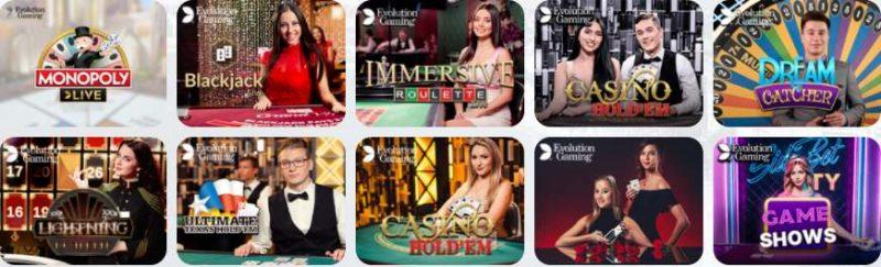 azur casino en ligne jeux en direct