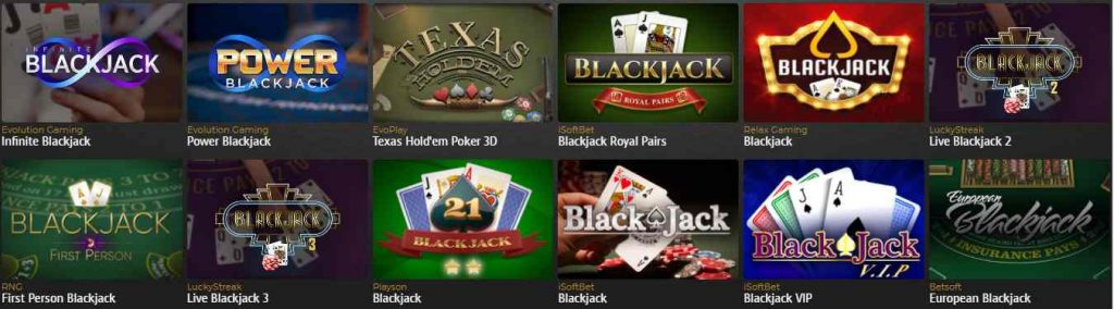 casino extra en ligne blackjack