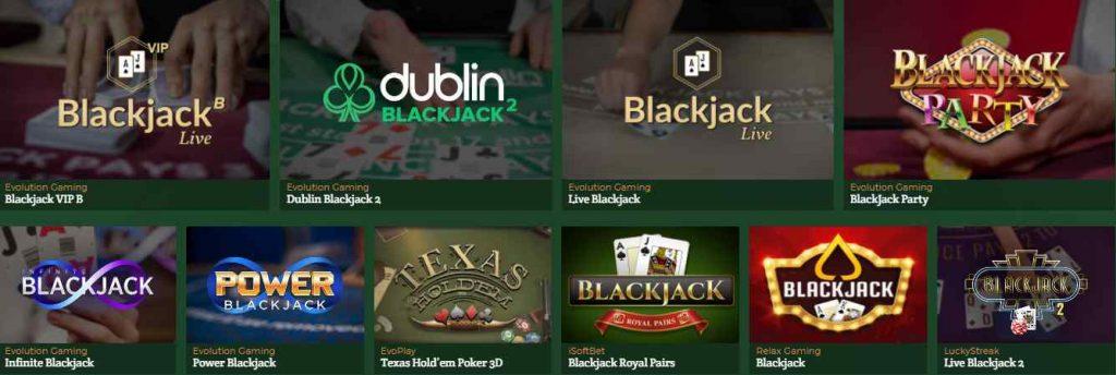 dublinbet casino en ligne blackjack