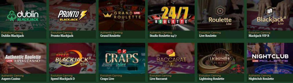 dublinbet casino en ligne jeux en direct