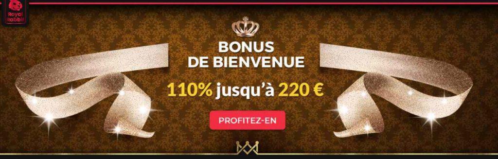 screenshot royal rabbit casino en ligne interface