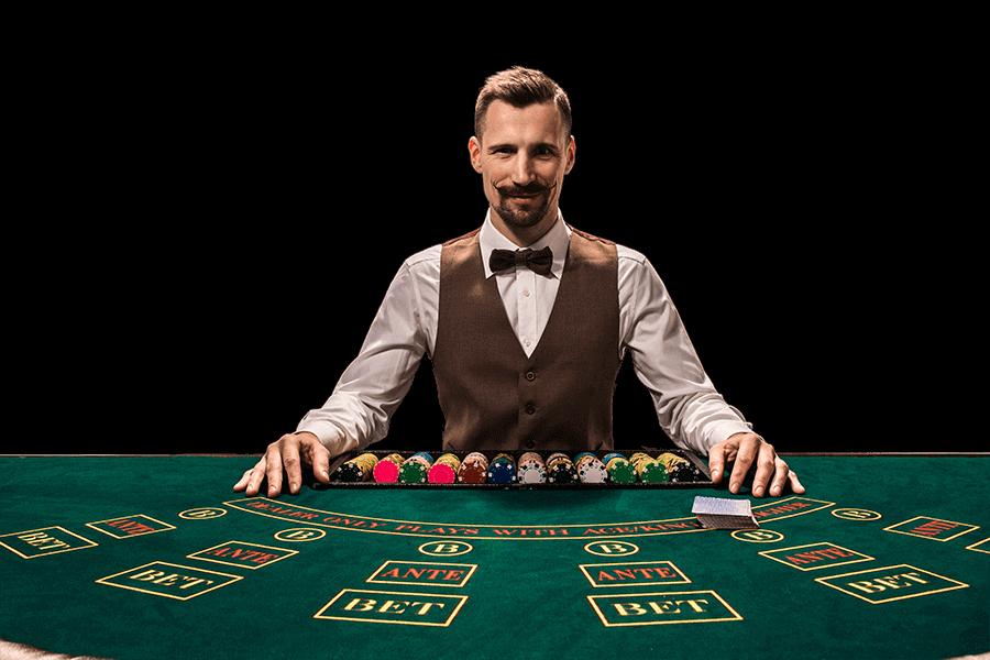 blackjack coupier